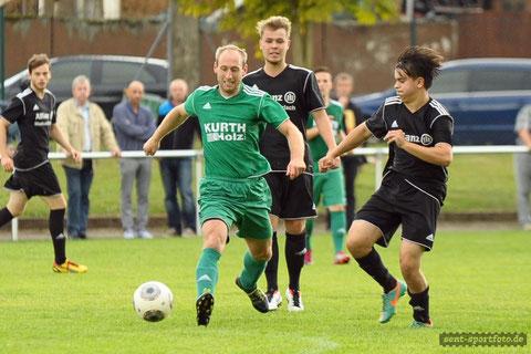SG Rhume (schwarz) vs SV Seeburg (grün)
