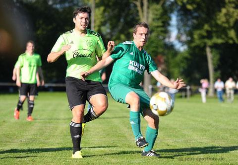 Eintr.Hahle (gelb) SV Seeburg (grün)