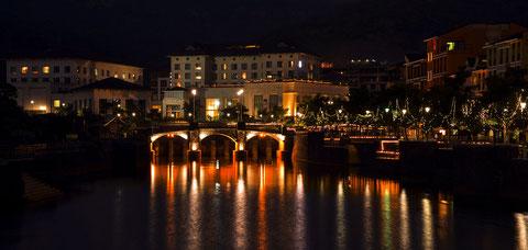 Lavasa - stilistisch orientiert am italienischen Portofino.