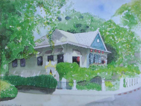 喫茶店。 Size 290 x 220