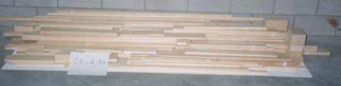 Western Aircraft Wood to size kit ( excluding spar material )