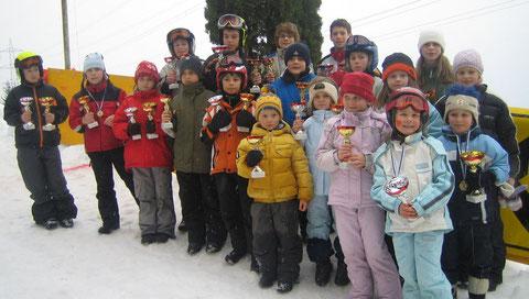Die kleinen - großen Sieger beim Ortsrodeltag 2006
