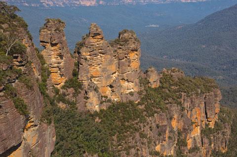 Meine Höhepunkte in New South Wales Die grandiosen Blue Mountains Der sehr informative Featherdale Wildlife Park Die Bergwelt des Mt. Kosciuszko Der westlichste Punkt Australiens in Byron Bay  Kleinere Nationalparks wie der Springbrook, Royal, Ku-ring-gai