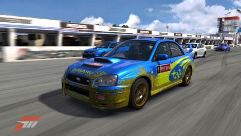 SUBARU WRC'04