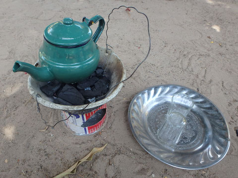 Gambian Attaya tea