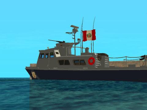 Bote de la marina del Perú