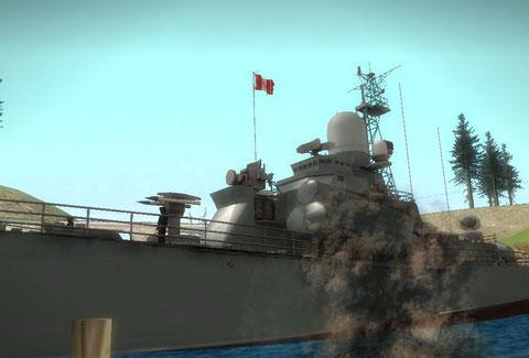 Buque de la marina del Perú