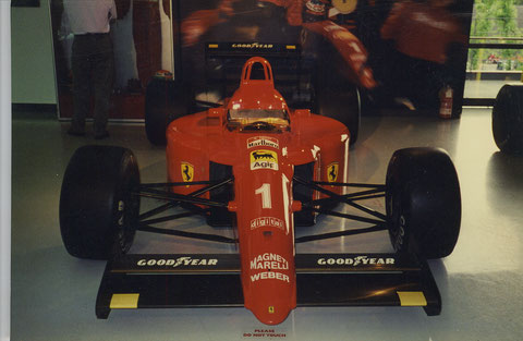 FERRARI  F-1 -----     MY FIRST RACE CAR------ I WISH !