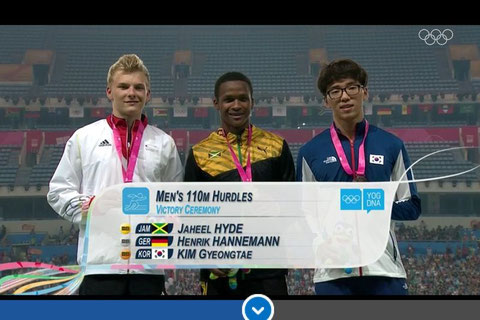 Siegerehrung!  Einmal aufs Bild klicken und ihr kommt zum Bericht von Leichtathletik.de