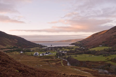 Distillery from the hills, all photographs with friendly permission from Louisa Young