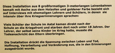 """Ausstellung """"Schule ist aus"""" Alte Dorfschule Greven-Aldrup 2010"""