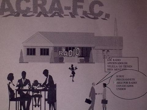 DISFRUTANDO DESPUES DE HACER RADIO