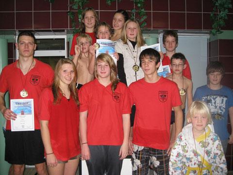 Unsere Vereinsjahrgangsmeistermeister 2010