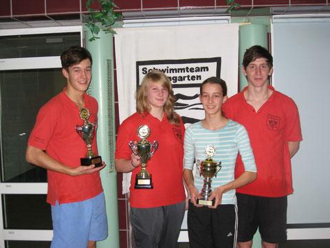 Unsere Pokalsieger 2010