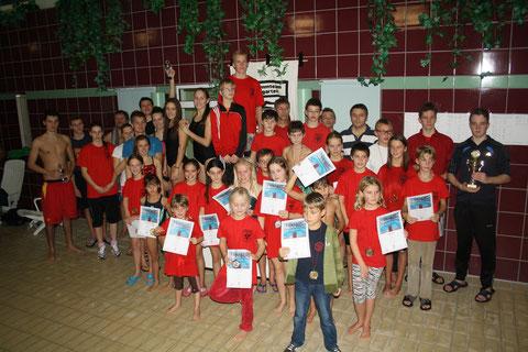 Teilnehmer Vereinsmeisterschaften 2013