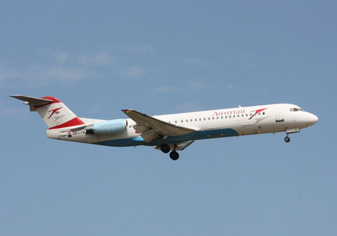 Fokker100 OE-LVB-1