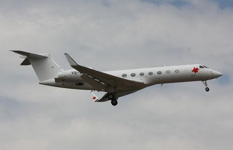 Gulfstream VQ-BLV-1
