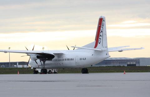 Fokker50 OO-VLR-1