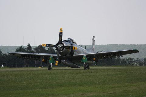 Skyraider AD-4N F-AZHK-1
