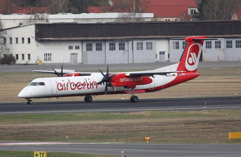 "DHC-8-402 Dash 8 "" D-ABQD "" Air Berlin"