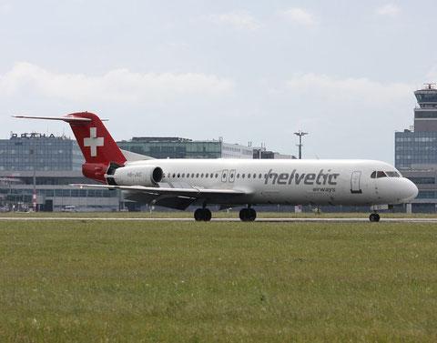 Fokker100 HB-JVC-1