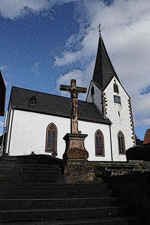 Radheimer Kirche St. Laurentius © Heiko Boll