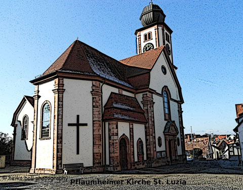 Pflaumheimer Kirche © Heiko Boll