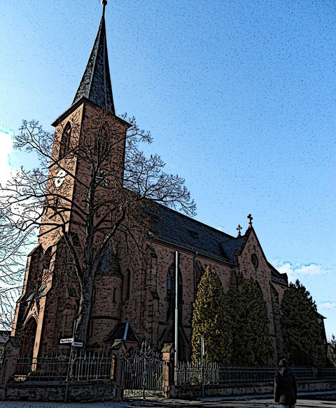 Wenigumstädter Kirche St. Sebastian                               © Heiko Boll
