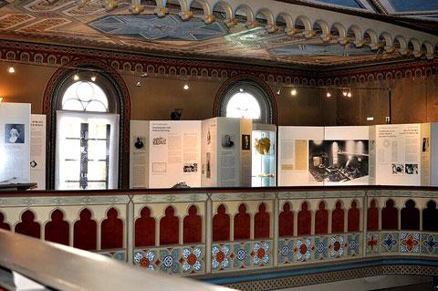 Ständige Ausstellung auf der früheren Frauenempore, Synagoge Hechingen, Foto: Manuel Werner