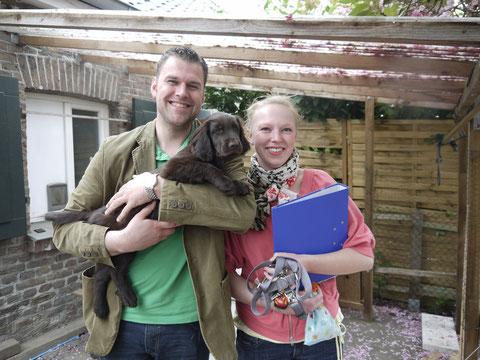 Abbi und Philip mit Henry