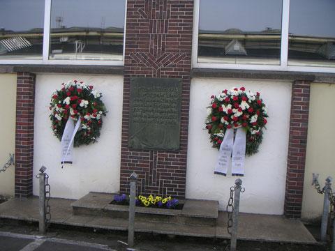 Gedenkstätte im Jahr 2010