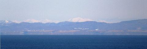 小樽から大雪山遠望