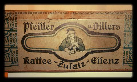 Kaffeedose Pfeiffer -Dillers