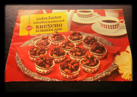 Leckre Sachen schnell zumachen mit EDUSCHO Schokolade 1977