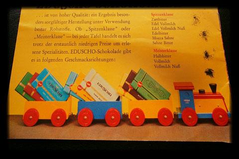 Eduscho Schokolade 1977