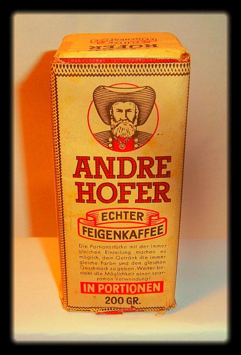 Andre Hofer ECHTER FEIGENKAFFEE