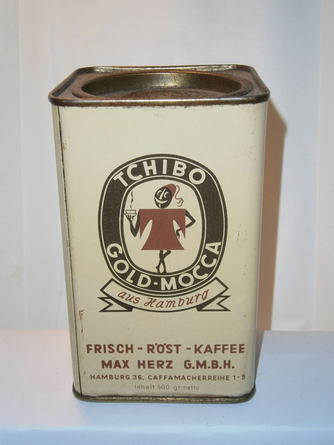 Kaffeedose Tchibo Gold-Mocca 1970