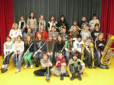 Die Mitglieder der Pikkolino im März 2009