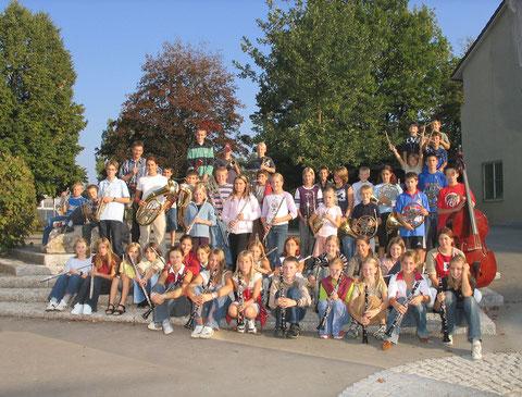 Die Mitglieder der Pikkolino im Juni 2003
