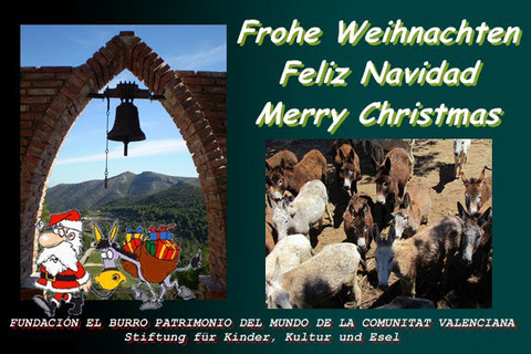 Frohes Fest den Eselfreunden