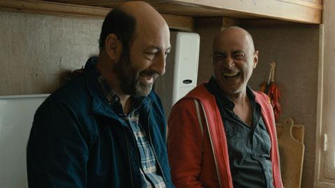 Kad Merad et Patrick Bosso: ça rigole à Marseille (©Pathé Distribution).