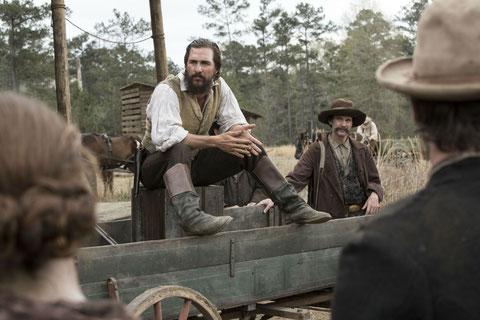 Matthew McConaughey interprète avec force le personnage réel de Newt Knight (©Metropolitan FilmExport).