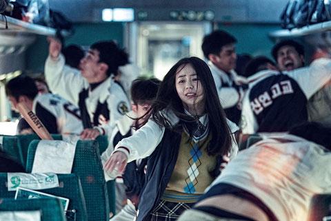 Dans le train pour Busan, c'est la panique (©ARP Sélection).