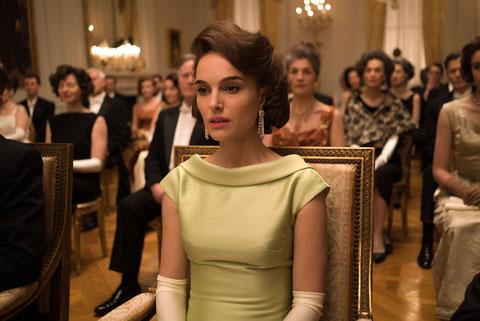 Natalie Portman est l'une des candidates à l'Oscar, pour son interprétation de Jackie Kennedy (©Bac Films).