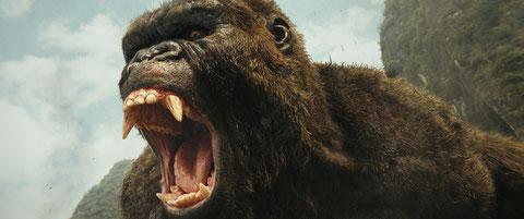 King Kong est en colère. Fallait pas l'énerver, non plus... (©Warner Bros).