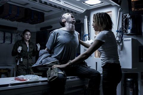 Un alien dans la cage thoracique, ça fait mal... (©20th Century Fox).