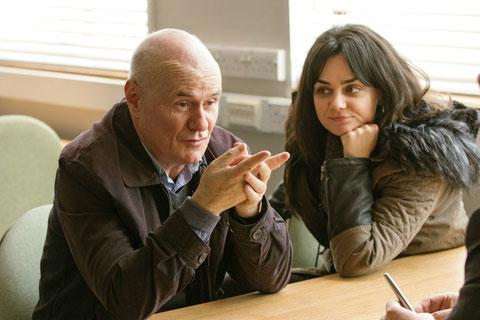 Dave Johns et Hayley Squires sont les deux interprètes principaux du film (©Le Pacte).