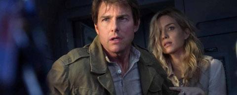 Tom Cruise et Annabelle Wallis ont déchaîné la colère des dieux anciens (©Universal Pictures).