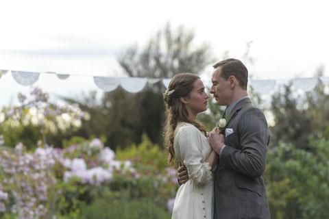 Alicia Vikander et Michael Fassbender, couple à l'écran comme à la ville (©Metropolitan FilmExport).