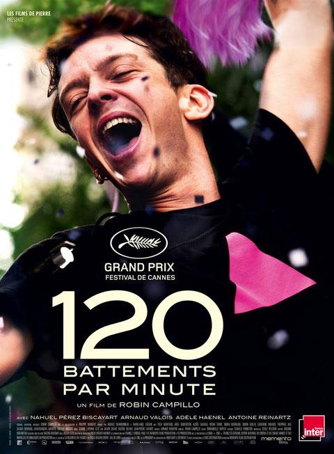 Le film raconte les débuts de l'association Act Up-Paris et les actions de ses militants qui voulaient sensibiliser l'opinion sur le sida au début des années 90 (©Les Films de Pierre/Memento Films).